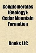 Conglomerates (Geology): Cedar Mountain Formation