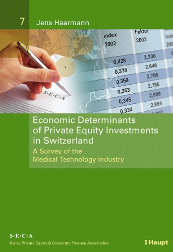 Economic Determinants of Private Equity Investments in Switzerland - Jens Haarmann