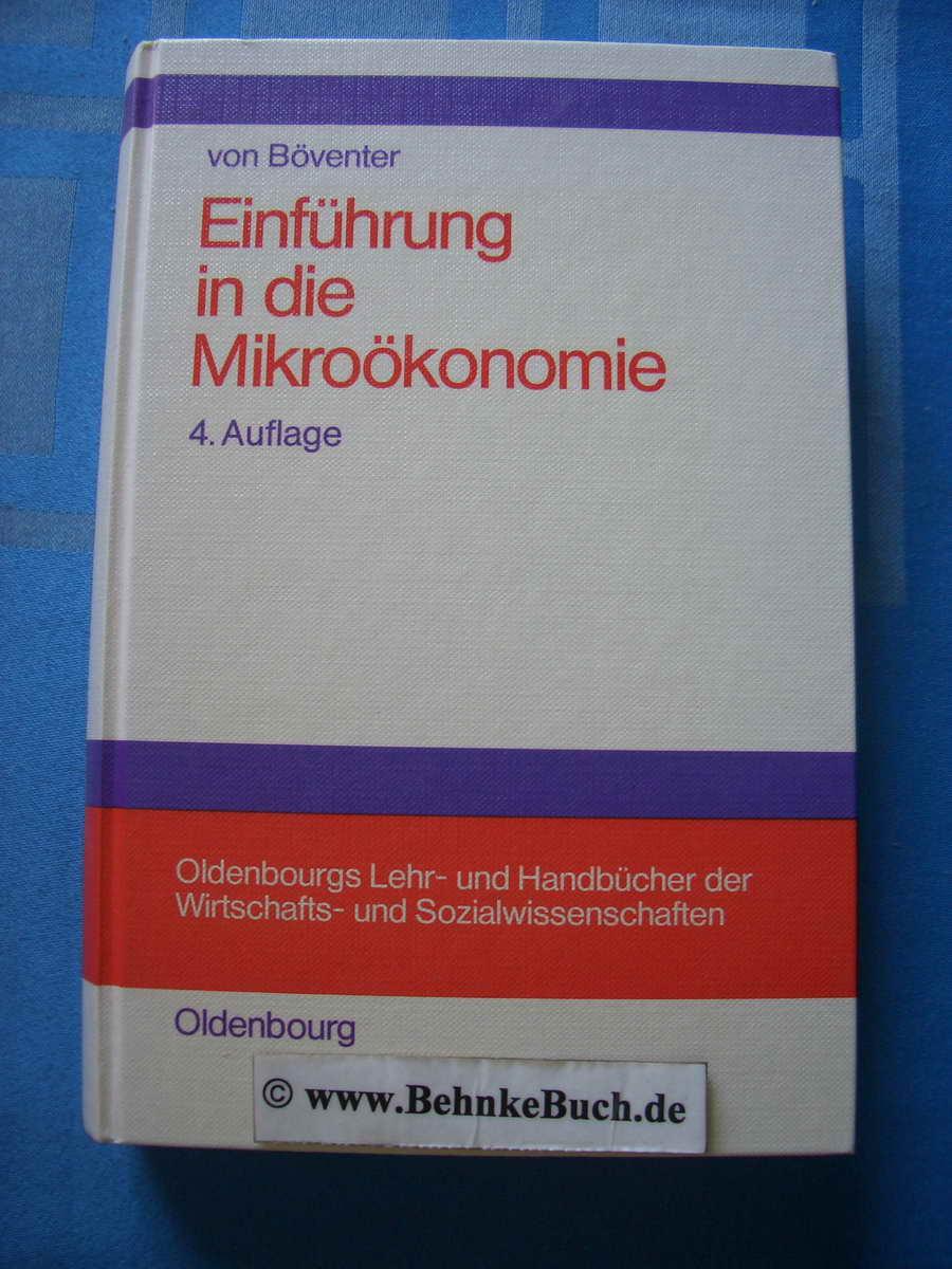 Einführung in die Mikroökonomie