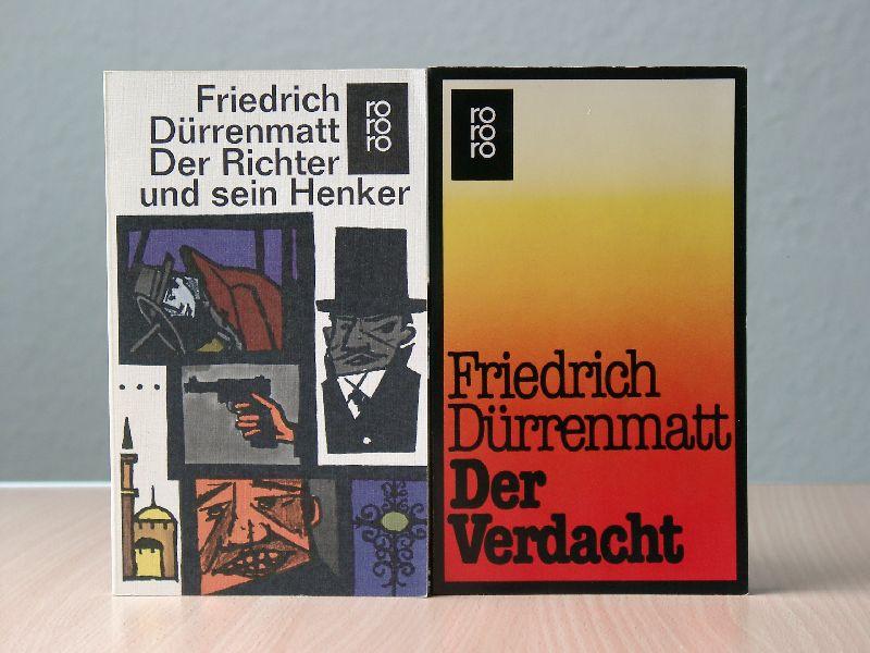 Der Richter und sein Henker  Der Verdacht - Dürrenmatt, Friedrich