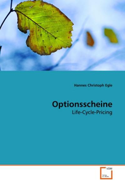 Optionsscheine - Hannes Christoph Egle