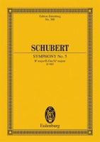 Symphony No. 5 in B-flat Major, D 485: Study Score (Edition Eulenburg)