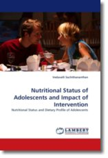 Nutritional Status of Adolescents and Impact of Intervention - Sachithananthan, Vedavalli