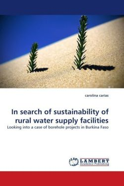 In search of sustainability of rural water supply facilities - carias, carolina