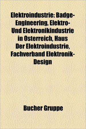 Elektroindustrie - B Cher Gruppe (Editor)