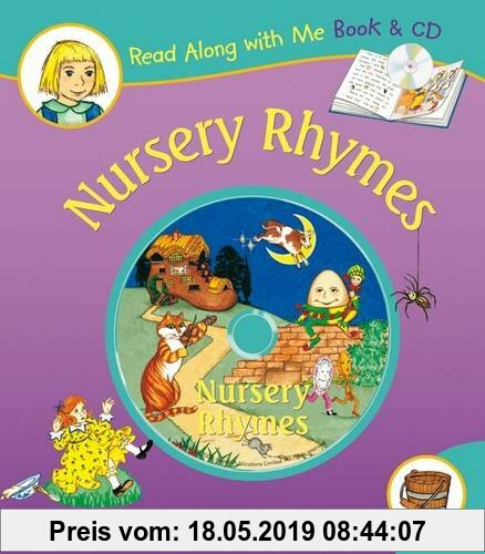 Gebr. - Nursery Rhymes [With Paperback Book] (Read Along With Me)