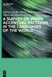 A Survey of Word Accentual Patterns in the Languages of the World als eBook Download von