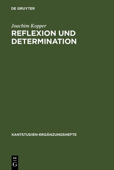 Reflexion und Determination