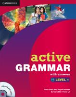 Active Grammar. Level 1: Edition with answers and CD-ROM