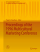 Proceedings of the 1996 Multicultural Marketing Conference - Pravat K. Choudhury