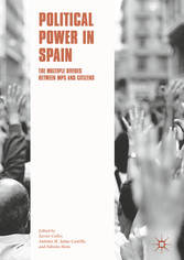 Political Power in Spain - The Multiple Divides between MPs and Citizens - Xavier Coller, Antonio M. Jaime-Castillo, Fabiola Mota
