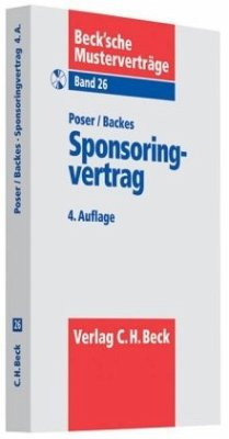 Sponsoringvertrag - Poser, Ulrich; Backes, Bettina
