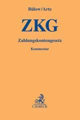 ZKG | Bülow / Artz - Kommentar - Prof. Dr. Dr. h.c. Peter Bülow, Prof. Dr. Markus Artz, Julia Ludwigkeit, Jonas Brinkmann - Prof. Dr. Dr. h.c. Peter Bülow, Prof. Dr. Markus Artz, Julia Ludwigkeit, Jonas Brinkmann