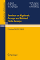 Seminar on Algebraic Groups and Related Finite Groups - Armand Borel; R. W. Carter; Charles W. Curtis; Nagayoshi Iwahori; T. A. Springer; Robert Steinberg
