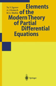 Partial Differential Equations II: Elements of the Modern Theory. Equations with Constant Coefficients - Yu.V. Egorov