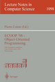 ECOOP '96 - Object-Oriented Programming - Pierre Cointe