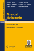 Biais, Bruno;Cvitanic, Jaksa;Jouini, Elyes;El Karoui, Nicole;Björk, Thomas: Financial Mathematics