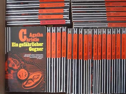 Agatha Christie - Sammlung von 36 Krimis der erfolgreichste Kriminalschriftstellerin der Welt. Spannende Unterhaltung mit den beliebten Detektiven Miss Marple und Hercule Poirot - Christie, Agatha