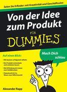 Von der Idee zum Produkt für Dummies