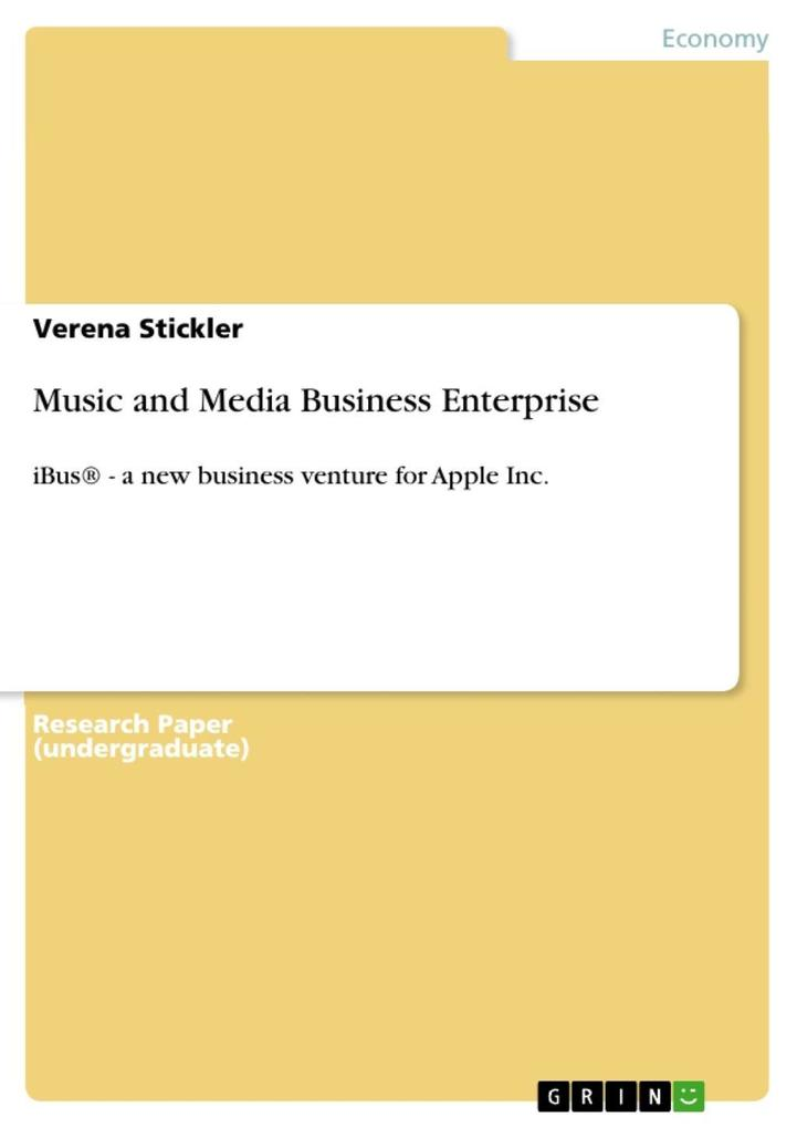 Music and Media Business Enterprise