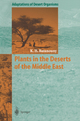 Plants in the Deserts of the Middle East - Kamal H. Batanouny