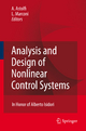 Analysis and Design of Nonlinear Control Systems - Alessandro Astolfi; Lorenzo Marconi