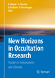 New Horizons in Occultation Research - Andrea Steiner; Barbara Pirscher; Ulrich Foelsche; Gottfried Kirchengast