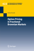 Rostek, Stefan: Option Pricing in Fractional Brownian Markets