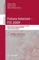 Future Internet - FIS 2009