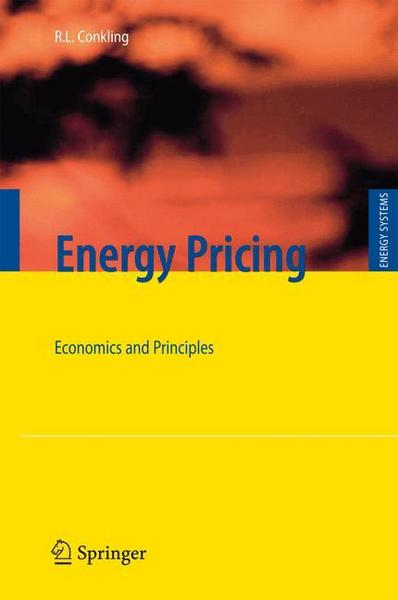 Energy Pricing - Roger L. Conkling