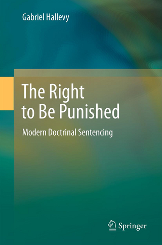 The Right to Be Punished - Gabriel Hallevy