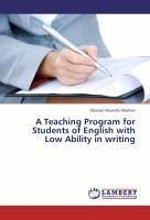 A Teaching Program for Students of English with Low Ability in writing - Mashori, Ghulam Mustafa