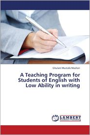 A Teaching Program for Students of English with Low Ability in Writing