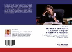 The Status of Distance Education in Higher Education Institutions - Beyessa, Feyera
