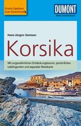 DuMont Reise-Taschenbuch Reiseführer Korsika - mit Online-Updates als Gratis-Download - Hans-Jürgen Siemsen