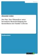 Alexander Linden: Der Pate. Eine Filmanalyse unter besonderer Berücksichtigung der Konstellation der Familie Corleone