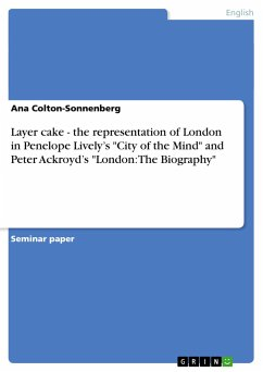 Layer cake - the representation of London in Penelope Lively's