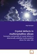 Crystal defects in multicrystalline silicon: Formation and growth of crystal defects in directionally solidified multicrystalline silicon for solar cells