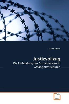 Justizvollzug - Die Einbindung des Sozialdienstes in Gefängnisstrukturen - Driese, David