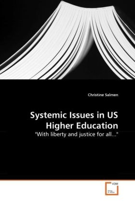 Systemic Issues in US Higher Education -