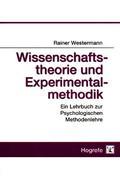 Rainer Westermann: Wissenschaftstheorie und Experimentalmethodik