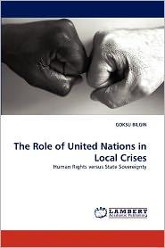 The Role Of United Nations In Local Crises - Goksu Bilgin