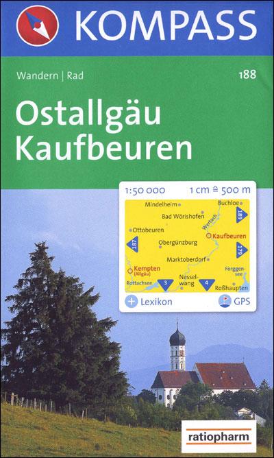Kaufbeuren - Ostallgäu - Kompass Karten