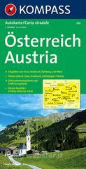 Carta automobilistica n. 308. Austria-Österreich 1:300.000