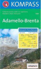Carta escursionistica n. 070. Trentino, Veneto. Parco naturale Adamello-Brenta 1:40.000