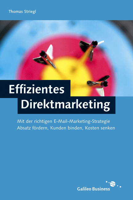 Effizientes Direktmarketing - Kundenkommunikation per E-Mail und Mobile Messages (Galileo Design) - Striegl, Thomas und Bernd Wetzenbacher