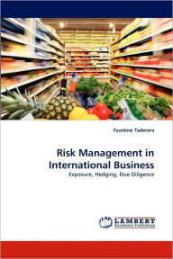 Risk Management In International Business - Faustino Taderera