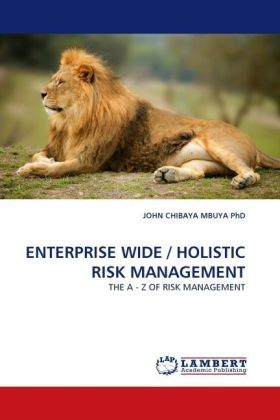 ENTERPRISE WIDE / HOLISTIC RISK MANAGEMENT - THE A - Z OF RISK MANAGEMENT - Chibaya Mbuya, John