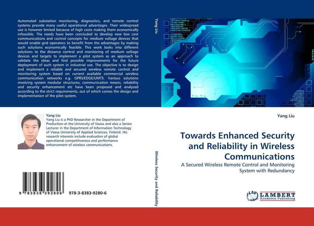 Towards Enhanced Security and Reliability in Wireless Communications als Buch von Yang Liu - LAP Lambert Acad. Publ.