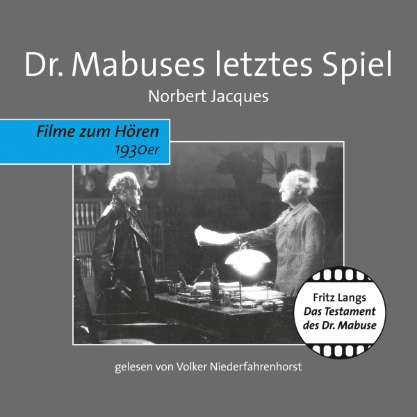 Dr. Mabuses letztes Spiel, Hörbuch, Digital, 1, 403min - Norbert Jacques